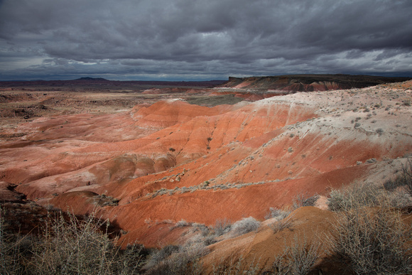 Storm Gathering Over Painted Desert
