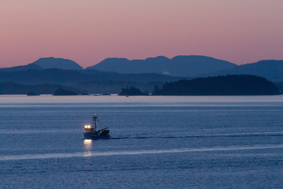 Dawn on the Inside Passage